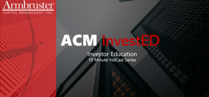 ACM InvestEd Vidcast Header